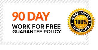 90 DAY work for free guarantee policy